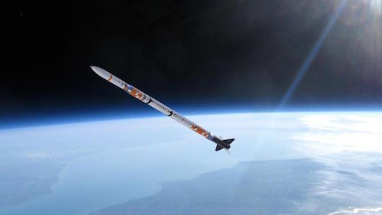Studenten TU Delft lanceren raket in Spanje