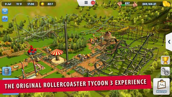 Eindelijk: een echte Rollercoaster Tycoon-game voor iOS