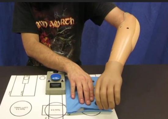 Te gek! Bionische hand kan met brein worden aangestuurd