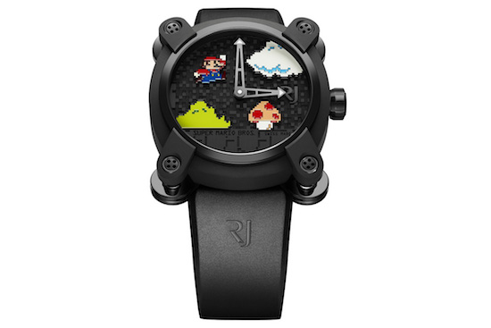 Horlogemaker komt met Nintendo horloge