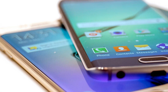 De Samsung Galaxy S6 Edge is op veel plekken moeilijk leverbaar