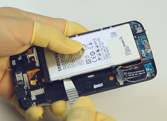 Samsung Galaxy S6 teardown: accu verwijderen is een no-go
