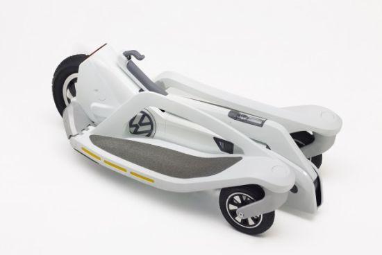 Segway Volkswagen Opgevouwen