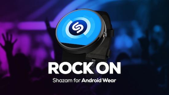 Shazam voor Android Wear