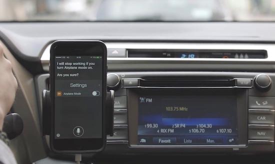 Toyota neemt je iPhone over op een uiterst slimme manier