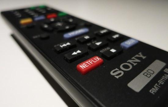 Sony Netflix afstandsbediening