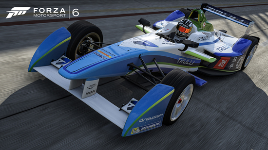Forza 6 gaat elektrisch: complete Formula E-veld beschikbaar