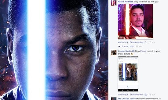 Zo krijg je Facebook profielfoto een Star Wars-makeover