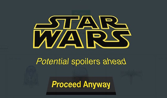 Zo voorkom je Star Wars-spoilers op het internet