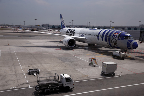 Japanse maatschappij komt met Star Wars toestel