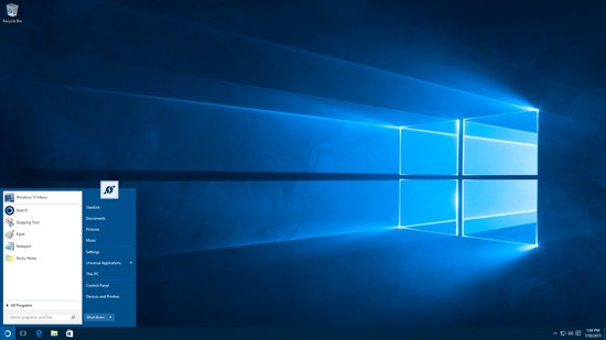 Start10 brengt een beetje Windows 7 naar Windows 10