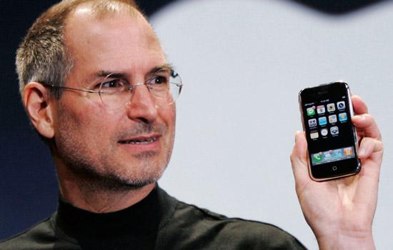 Steve Jobs en de eerste iPhone