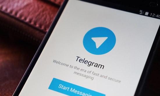 IS gebruikt Telegram