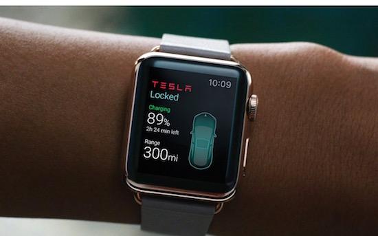 Bedien je Tesla met deze app voor de Apple Watch