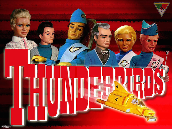 Thunderbirds maken comeback in Thunderbirds 65