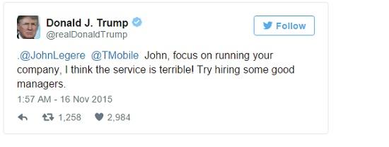 Trump tweet 1