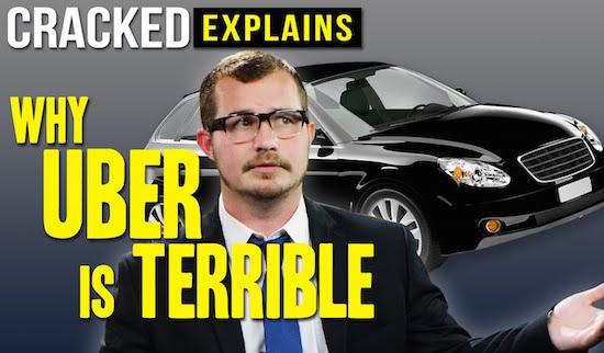 Waarom Uber een verschrikkelijk bedrijf is