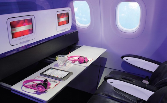 Je kunt straks Spotify in het vliegtuig luisteren