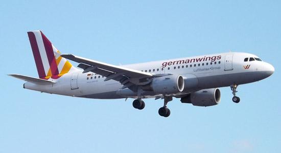 Een van de vliegtuigen van Germanwings