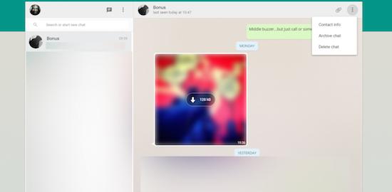 WhatsApp Web krijgt eerste update
