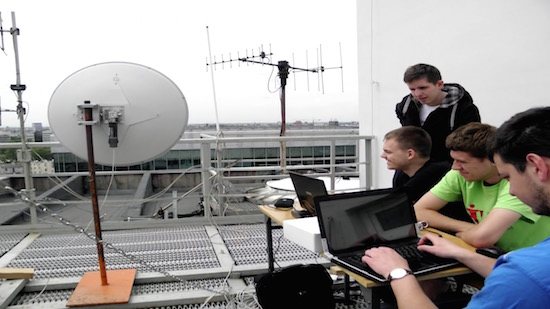 Poolse studenten creëren WiF-netwerk met 250 km bereik
