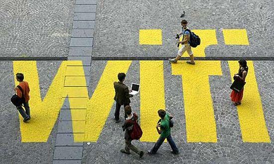 WIFI straat