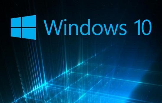 Windows 10 Blauw