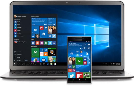 Windows 10 inmiddels 200 miljoen keer geïnstalleerd