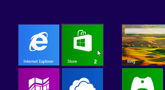 Storing in de Windows Store