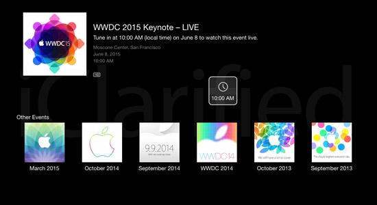 Apple bevestigt livestream WWDC