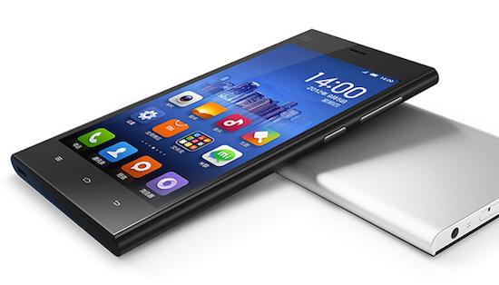 Een Xiaomi telefoon