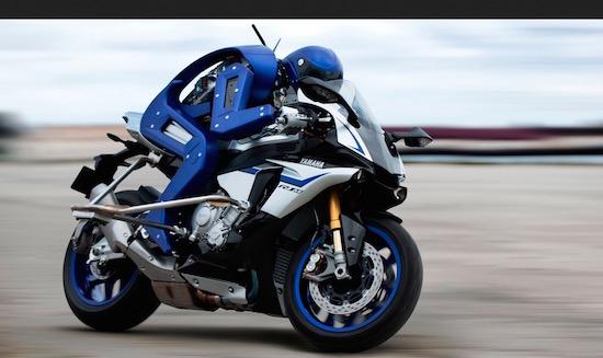 Yamaha heeft een robot gebouwd die kan motorrijden