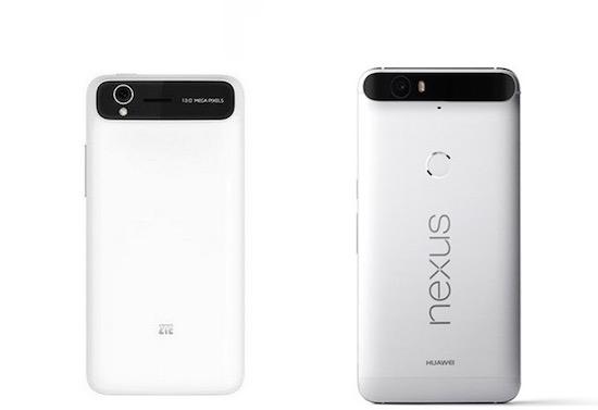 ZTE: 'Huawei heeft design van de Nexus 6P van ons gejat!
