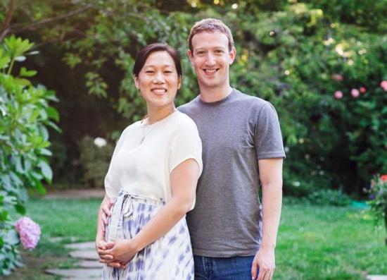 Mark Zuckerberg wordt vader