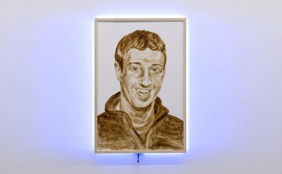 Het poep-portret van Zuckergberg