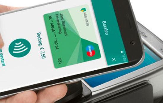 ABN AMRO start met betalen per smartphone