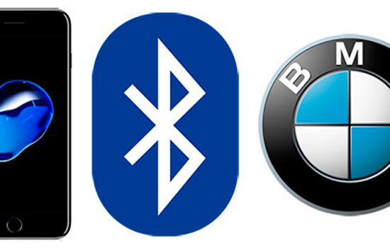 BMW probleem bluetoothe iphone 7