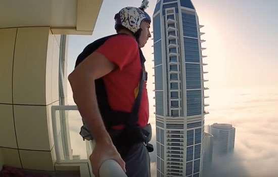 Basejumper in Dubia