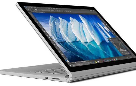 De microsoft Surface Pro laptop