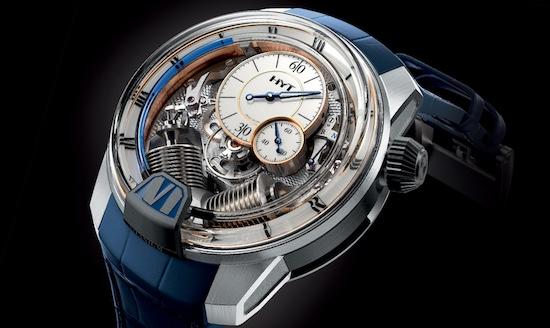 HYT horloge duur