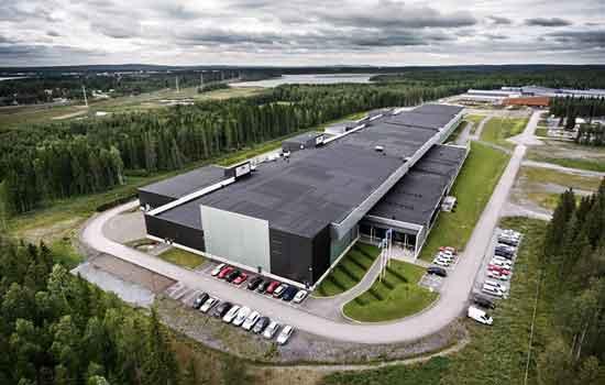 Het datacenter van Facebook in Zweden