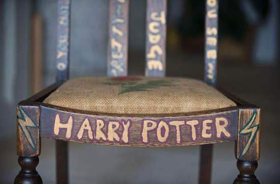 Stoel JK Rowling onder de hamer