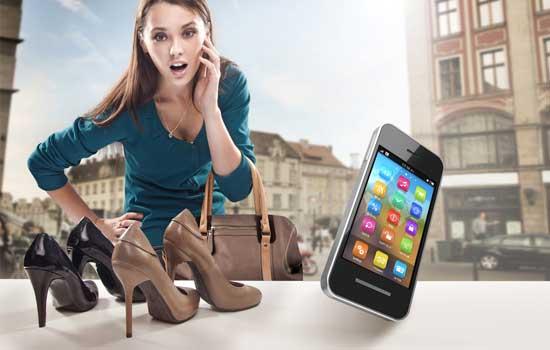 Kastje nodig voor mobiel shoppen