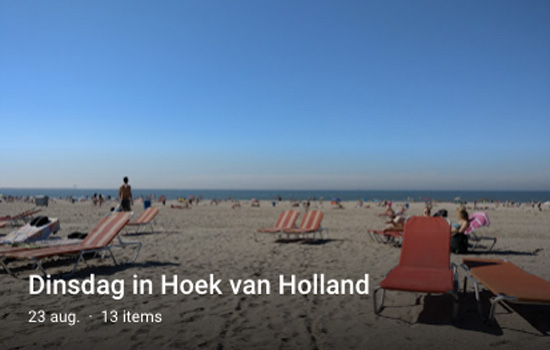 Middag in Hoek van Holland