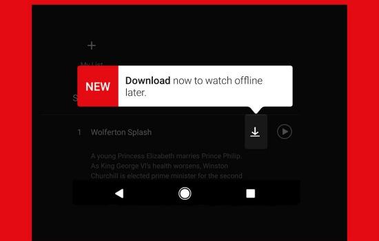 Netflix offline bekijken