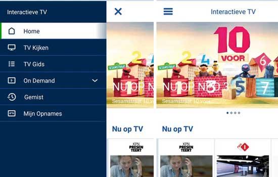 KPN heeft een nieuwe tv-app