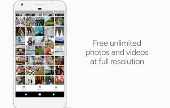Onbeperkte opslag bij Google Photos met Google Pixel