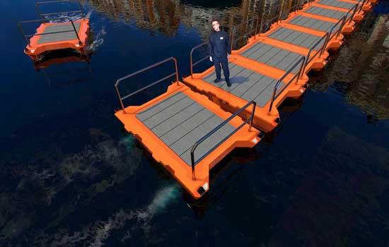 Roboats kunnen ook tijdelijke bruggen bouwen