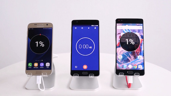 Samsung Galaxy S7 vs. OnePlus 3