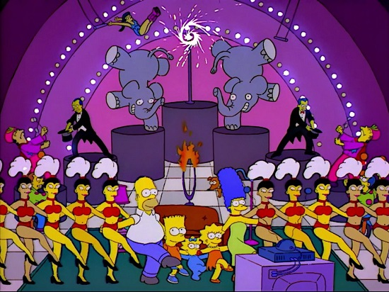 Simpsons opening